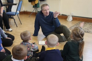 Graham at messy church
