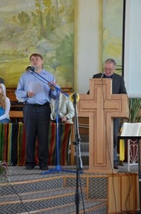 Preaching at Talnoe Baptist Church