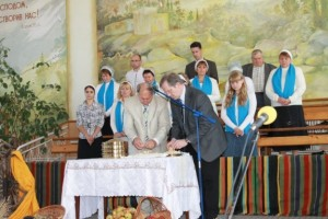Communion in Talnoe Church